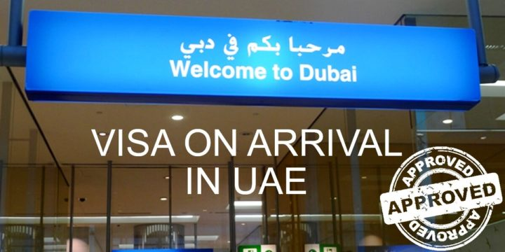 UAE visa on arrival for Indian Nationals